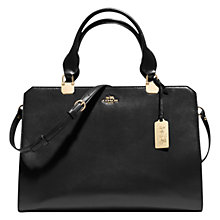 Buy Coach Madison Leather Carryall Tote Bag Online at johnlewis.com