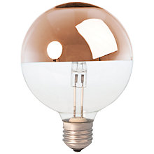 Buy Calex 42W ES G95 Globe Crown Bulb, Bronze Online at johnlewis.com