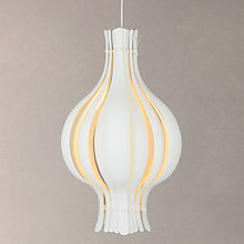 Buy Verpan Onion Pendant, White, Small Online at johnlewis.com