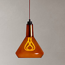 Buy Plumen Drop Top Pendant Set, Amber Online at johnlewis.com
