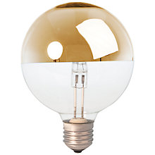 Buy Calex 42W ES G95 Globe Crown Bulb, Gold Online at johnlewis.com