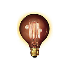 Buy Calex 40W ES G95 Globe Bulb, Gold Online at johnlewis.com