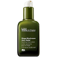 Buy Dr. Andrew Weil for Origins Mega Mushroom™ Skin Relief Face Lotion, 50ml Online at johnlewis.com
