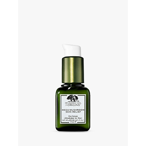 Buy Dr. Andrew Weil for Origins Mega-Mushroom™ Eye Serum, 15ml Online at johnlewis.com