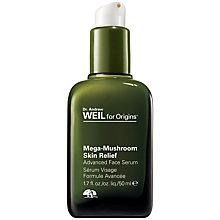 Buy Dr. Andrew Weil for Origins Mega-Mushroom Skin Relief Advanced Face Serum, 100ml Online at johnlewis.com