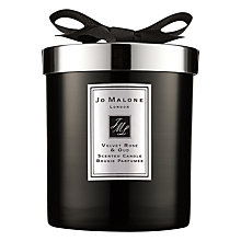 Buy Jo Malone London Candle Intense Velvet Rose & Oud, 200g Online at johnlewis.com