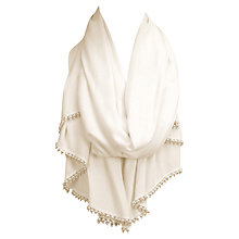Buy Coast Theresa Pearl Wrap, Ivory Online at johnlewis.com