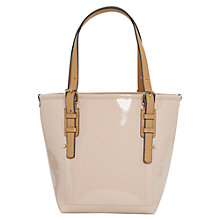 Buy Mango Patent Shopper Bag Online at johnlewis.com