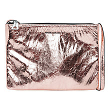 Buy Mango Metallic Cross Body Bag Online at johnlewis.com