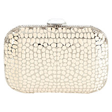 Buy Coast Jasmine Clutch Bag, White Online at johnlewis.com