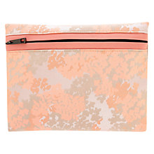 Buy Coast Zinia Jacquard Clutch Bag, Coral Online at johnlewis.com