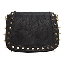 Buy Mango Punk Across Body Handbag, Black Online at johnlewis.com