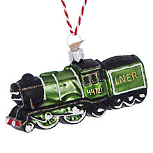Buy Bombki Little Flying Scotsman Hanging Decoration Online at johnlewis.com