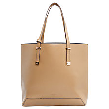 Buy Mango Purse Shopper Bag, Light Beige Online at johnlewis.com