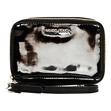 Buy Mango Wristlet Mini Bag, Black Online at johnlewis.com