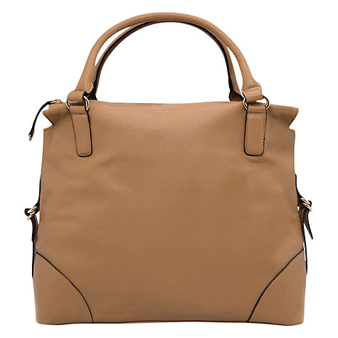 Buy Mango Pebbled Bag, Light Beige Online at johnlewis.com