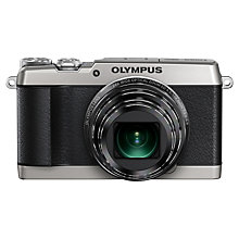 "Buy Olympus SH-1 Digital Camera, HD 1080p, 16.8MP, 24x Optical Zoom, Wi-Fi with 3"" LCD Screen with Memory Card Online at johnlewis.com"
