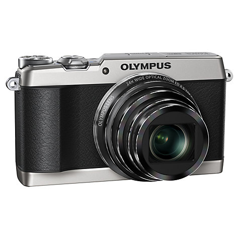 "Buy Olympus SH-1 Digital Camera, HD 1080p, 16.8MP, 24x Optical Zoom, Wi-Fi with 3"" LCD Screen Online at johnlewis.com"