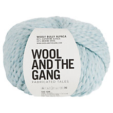 Buy Wool and the Gang Wooly Bully Alpaca Aran Yarn, 50g Online at johnlewis.com
