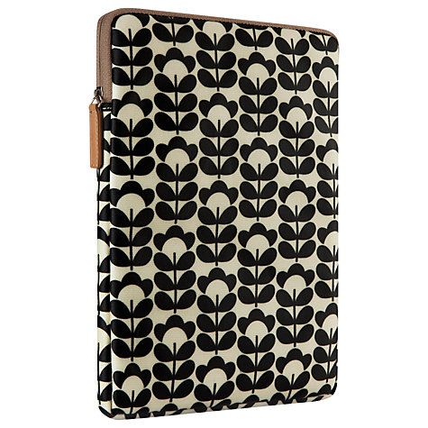 Buy Orla Kiely Sweetpea Sleeve for iPad Air, Cream Online at johnlewis.com