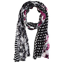 Buy Betty Barclay Multi Pattern Scarf, Multi Online at johnlewis.com