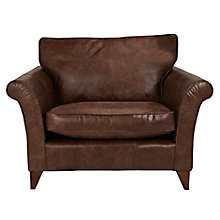 Buy John Lewis Charlotte Leather Snuggler, Rialto Bruno Online at johnlewis.com