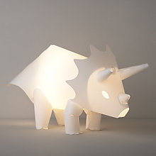 Buy little home at John Lewis Dino Was Here Table Lamp Online at johnlewis.com