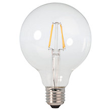 Buy Calex 2W ES G95 LED Filament Bulb, Clear Online at johnlewis.com