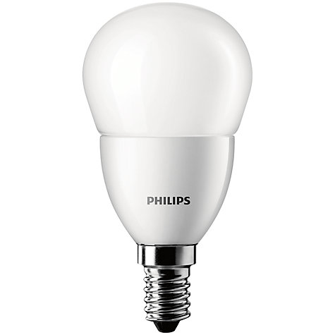 Buy Philips 3W SES LED Golf Ball Bulb, Frosted Online at johnlewis.com