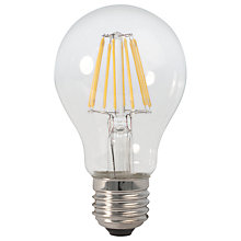 Buy Calex 6W ES LED Filament Classic Bulb, Clear Online at johnlewis.com