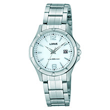 Buy Lorus RJ277AX9 Women's Mother of Pearl Dial Stainless Steel Watch Online at johnlewis.com