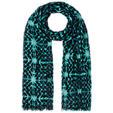 Buy Whistles Kaleidoscope Print Scarf, Green/Multi Online at johnlewis.com