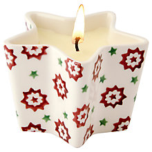 Buy Emma Bridgewater Joy Candle Star Dish Online at johnlewis.com