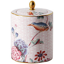 Buy Wedgwood Cuckoo Tea Caddy, Pink Online at johnlewis.com