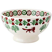 Buy Emma Bridgewater Christmas Joy French Bowl Online at johnlewis.com