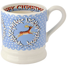 Buy Emma Bridgewater Christmas Wreath Deer Mug Online at johnlewis.com