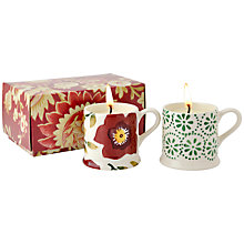 Buy Emma Bridgewater Rose Candle Mini Mugs, Set of 2 Online at johnlewis.com