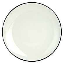 Buy John Lewis Puritan Side Plate, Light Grey Online at johnlewis.com