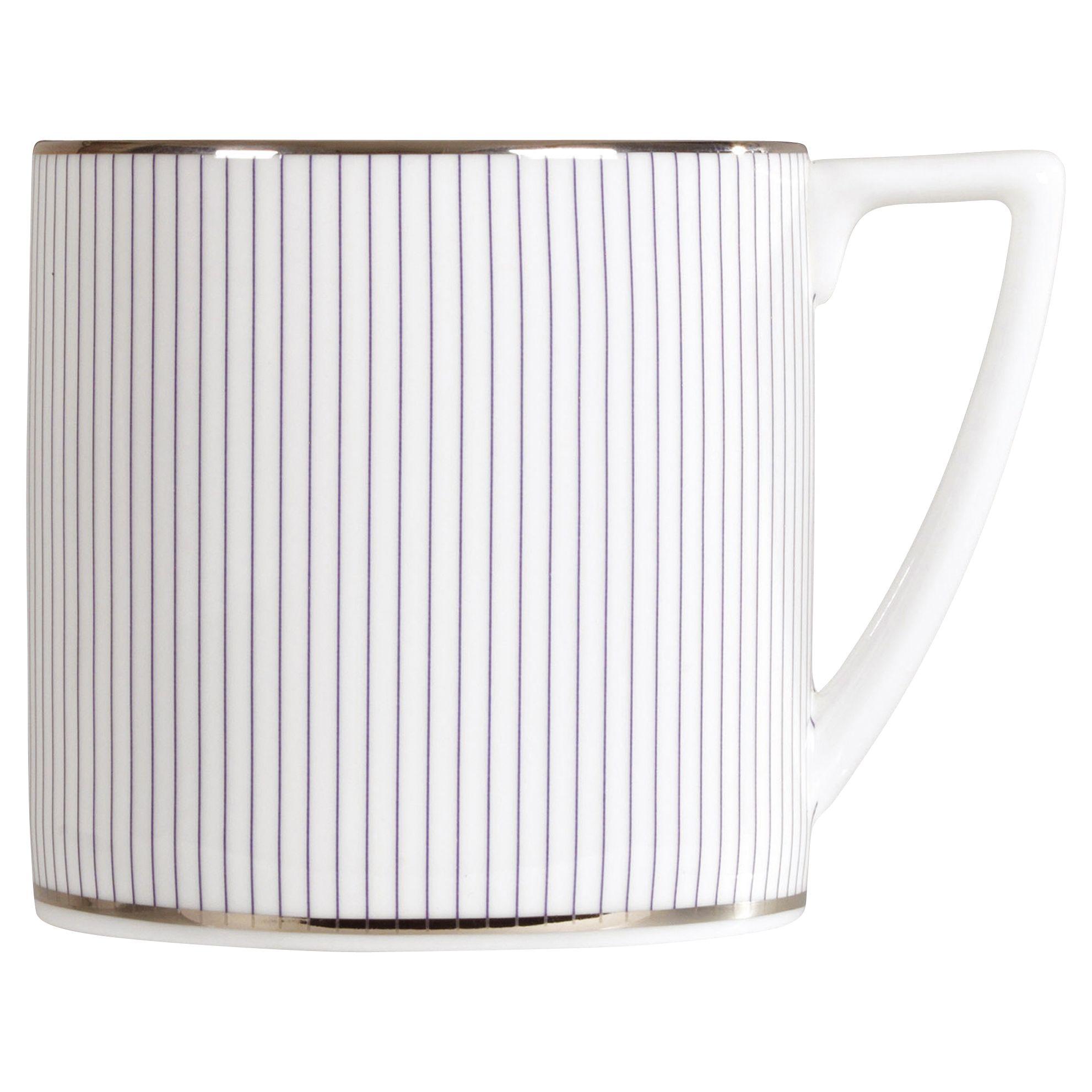 Jasper Conran Jasper Conran for Wedgwood Pinstripe Mini Mug, 0.29L
