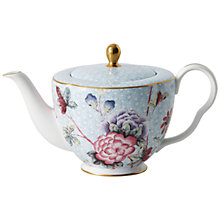 Buy Wedgwood Cuckoo Teapot, Blue Online at johnlewis.com