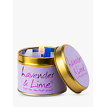 Buy Lily-Flame Lavender and Lime Scented Candle Tin Online at johnlewis.com