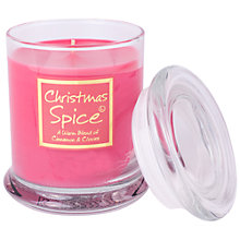 Buy Lily-Flame Christmas Spice Glass Candle Jar Online at johnlewis.com