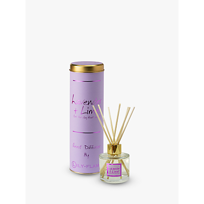 Lily-Flame Lavender and Lime Diffuser, 100ml