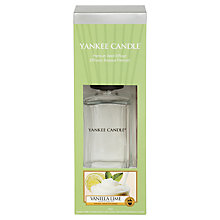 Buy Yankee Candle Vanilla Lime Decor Reed Diffuser, 170ml Online at johnlewis.com