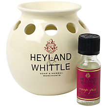 Buy Heyland & Whittle Oil Burner, Cream Online at johnlewis.com