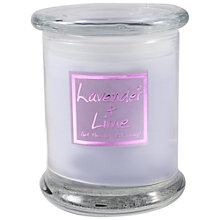 Buy Lily-Flame Lavender and Lime Scented Candle Jar Online at johnlewis.com
