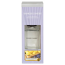 Buy Yankee Candle Lemon Lavender Decor Reed Diffuser, 170ml Online at johnlewis.com