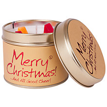 Buy Lily-Flame Merry Christmas Candle Tin Online at johnlewis.com