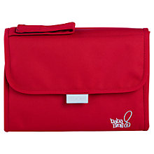 Buy Bababing FlipOut Baby Changing Mat, Red Online at johnlewis.com