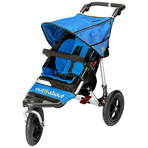 Buy Out 'N' About Nipper 360 Single V4 Pushchair, Lagoon Blue Online at johnlewis.com